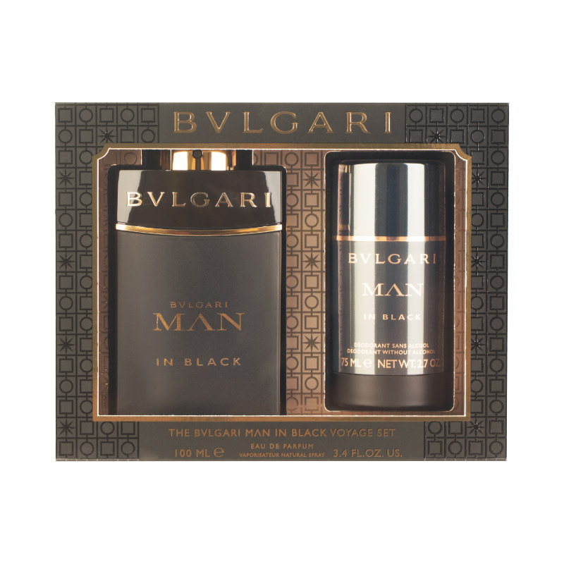 Bvlgari Man In Black Eau De Perfume Set Beautyfresh