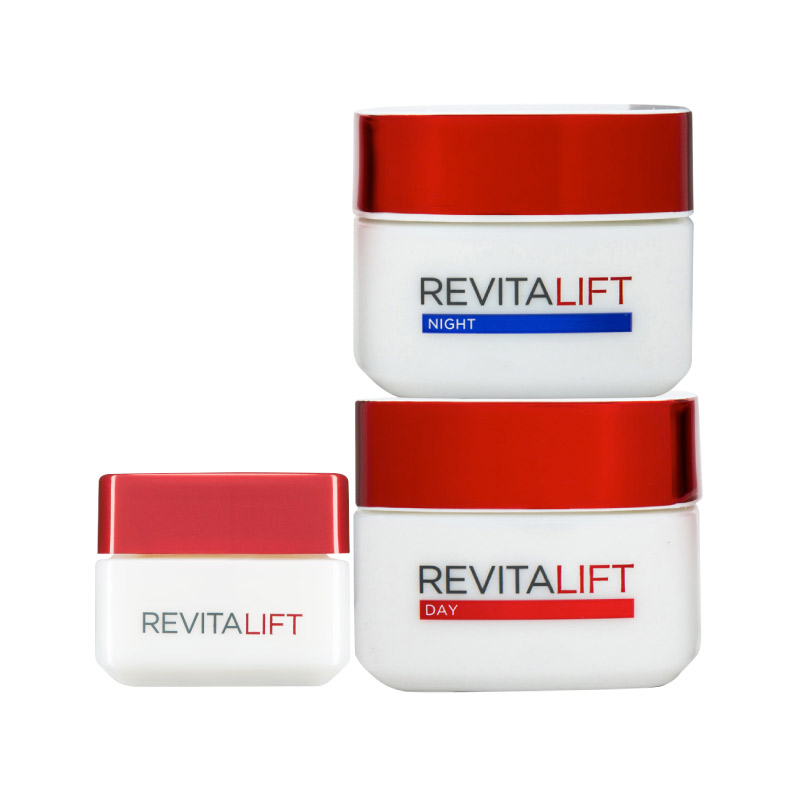Beauty Story Cc Cream Real Complexion: L'Oreal Revital Lift Programme: Day Cream + Eye Cream