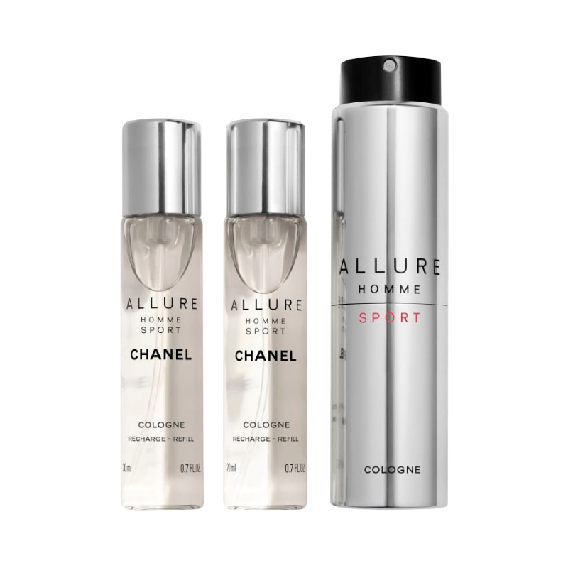 f95a050c Chanel Allure Homme Sport Cologne Twist and Spray - 3x20ml
